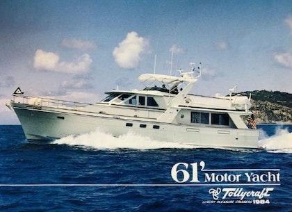 photo of 61' Tollycraft 61 Motor Yacht 1983