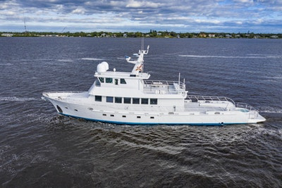 photo of 96' GlassTech Expedition Yacht 2018
