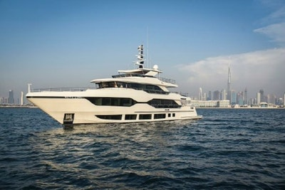 photo of 122' Majesty Yachts 120 2022