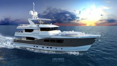 photo of 90' Custom Tri Deck Explorer Yacht 2020