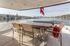 Paragon-motor yacht 2015-PARAGON COCKPIT Seattle-Washington-United States-Aft Deck Dining-1377234 | Thumbnail