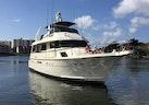 Hatteras-67 Cockpit Motor Yacht 1988-Lady Encore Saint Petersburg-Florida-United States-Bow Profile-926168 | Thumbnail