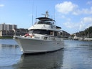 Hatteras-67 Cockpit Motor Yacht 1988-Lady Encore Saint Petersburg-Florida-United States-Bow Profile-926169 | Thumbnail