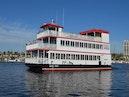 Custom-Triple Deck Dinner River Boat 1996-Barefoot Princess Beaufort-North Carolina-United States-Profile Portside View-389109   Thumbnail
