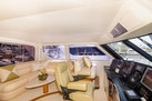 Viking-Enclosed Bridge 2001-Following Grace North Palm Beach-Florida-United States-Lower Helm and Settee-370440 | Thumbnail