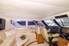 Viking-Enclosed Bridge 2001-Following Grace North Palm Beach-Florida-United States-Lower Helm and Settee-370439 | Thumbnail