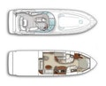 Sea Ray-52 Sundancer 2008 -Fort Lauderdale-Florida-United States-Vessel Layout-351111 | Thumbnail