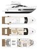 Dyna Yachts-Flybridge 2021 -Florida-United States-Layout Galley Forward-1065878   Thumbnail