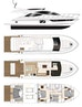 Dyna Yachts-Flybridge 2021 -Florida-United States-Layout Galley Aft-1065886   Thumbnail