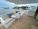 Dyna Yachts-Flybridge 2022 -Fort Lauderdale-Florida-United States-Cockpit Seating-1802772   Thumbnail