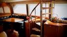 Viking-65 Enclosed Bridge Convertible 2001-TalkN Trash Orange Beach-Alabama-United States-Dinette-1075853 | Thumbnail
