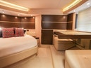 Azimut-Flybridge 2014 -Stuart-Florida-United States-Owners Suite with Vanity and Settee-1079070 | Thumbnail