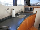 Carver-450 Voyager Pilothouse 1999-Carolina Cajun Beaufort-North Carolina-United States-Beautiful Counter and View from the Salon-1093010 | Thumbnail