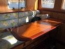 Webbers Cove-1966/2004 Custom Trawler 1966-Deja Bleu Bainbridge Island-Washington-United States-Pilothouse Table-1095685 | Thumbnail