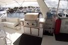 Hatteras-61 Motoryacht 1980-Piece A Cake Ft. Pierce-Florida-United States-Flybridge Grill-1094534 | Thumbnail
