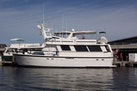 Hatteras-61 Motoryacht 1980-Piece A Cake Ft. Pierce-Florida-United States-Port Side Profile-1094499 | Thumbnail
