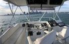 Hatteras-Convertible 1982-Lip Service Miami-Florida-United States-Flybridge Helm-1490255 | Thumbnail