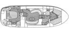 Sea Ray-390 Motor Yacht 2004-Per Ser Verance North Miami-Florida-United States-Floorplan Layout-1105955 | Thumbnail