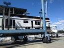 Horizon-66 Houseboat 2007-Carpe Diem Boston-Massachusetts-United States-In The Slings for Bottom Paint-1120101 | Thumbnail