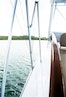 Garlington-58 Convertible 1988-Hey Girl Belize-Port Looking Fore from Helm-1121789 | Thumbnail