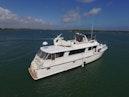 Hatteras-74 Motor Yacht 1981-Pleasurizer Fort Pierce-Florida-United States-Starboard Side-1122240 | Thumbnail