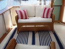 Hatteras-Cockpit Motoryacht 1983-Southern Cross Essex-Connecticut-United States-Aft Deck Seating-1155704 | Thumbnail