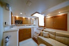 Cabo-Express 2007-Marauder Palm Beach Gardens-Florida-United States-Cabin Entry With Galley And Settee-1189475 | Thumbnail