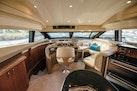 Marquis-Flybridge Motor Yacht 2004-Sandy Island Palm Coast-Florida-United States-Lower Helm, Dinette Settee-1247871 | Thumbnail