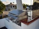 Hatteras-Cockpit Motoryacht 1989-Amelia Boca Raton-Florida-United States-Flybridge Grill To Port-1206096 | Thumbnail