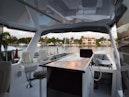 Hatteras-Cockpit Motoryacht 1989-Amelia Boca Raton-Florida-United States-Flybridge Under Hardtop-1206091 | Thumbnail