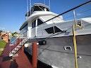 Hatteras-Cockpit Motoryacht 1989-Amelia Boca Raton-Florida-United States-Starboard Side Detail-1206078 | Thumbnail
