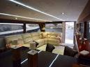 Hatteras-Cockpit Motoryacht 1989-Amelia Boca Raton-Florida-United States-Salon View From Galley-1206119 | Thumbnail