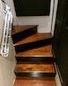 Hatteras-Cockpit Motoryacht 1989-Amelia Boca Raton-Florida-United States-Stairs Below Deck-1206132 | Thumbnail