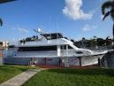 Hatteras-Cockpit Motoryacht 1989-Amelia Boca Raton-Florida-United States-Starboard Side At Dock-1206151 | Thumbnail