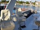 Hatteras-Cockpit Motoryacht 1989-Amelia Boca Raton-Florida-United States-Flybridge Stidd Chairs-1206093 | Thumbnail