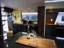 Hatteras-Cockpit Motoryacht 1989-Amelia Boca Raton-Florida-United States-Galley Port To Starboard-1206114 | Thumbnail