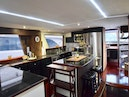 Hatteras-Cockpit Motoryacht 1989-Amelia Boca Raton-Florida-United States-Galley From Stairs To Owners Suite-1206115 | Thumbnail