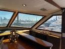 Hatteras-Cockpit Motoryacht 1989-Amelia Boca Raton-Florida-United States-Breakfast Area Showcasing Wood Trim-1206108 | Thumbnail