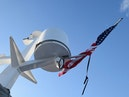 Hatteras-Cockpit Motoryacht 1989-Amelia Boca Raton-Florida-United States-Radar And Flag-1206086 | Thumbnail