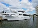 Hatteras-Cockpit Motoryacht 1989-Amelia Boca Raton-Florida-United States-Port Side At  Dock-1206152 | Thumbnail