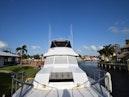 Hatteras-Cockpit Motoryacht 1989-Amelia Boca Raton-Florida-United States-Bow Pulpit To Flybridge View-1206080 | Thumbnail