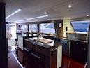 Hatteras-Cockpit Motoryacht 1989-Amelia Boca Raton-Florida-United States-Galley Island View To Aft-1206112 | Thumbnail