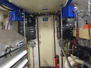 Hatteras-Cockpit Motoryacht 1989-Amelia Boca Raton-Florida-United States-Engine Room Towards Door-1206147 | Thumbnail