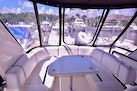 Sea Ray-44 Sedan Bridge 2006-Mr. Munch Coral Gables-Florida-United States-Flybridge Table With Seating Aft View-1229880 | Thumbnail