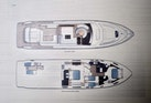 Princess-V72 2013-High Bid Destin-Florida-United States-Layout Sketch-1233100 | Thumbnail