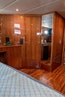 Jefferson-61 MarQuessa 2001-NAUTI SEAHORZE Jupiter-Florida-United States-Master Stateroom Forward Walk In Closet-1242920 | Thumbnail