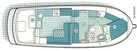 Nordic Tugs-32 with Upper Station 1997-Adriana Fort Myers Beach-Florida-United States-Layout Floor Plan-1266862 | Thumbnail