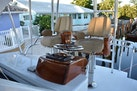 Spencer-Sportfish 2013-Fire Escape Pompano Beach-Florida-United States-Two Release Marine Trillion Teak Helm Chairs-1274291   Thumbnail
