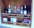 Silverton-402/422 Motoryacht 1997-For Petes Sake Ft Pierce-Florida-United States-Salon Bottle Storage-1278533 | Thumbnail