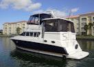 Silverton-402/422 Motoryacht 1997-For Petes Sake Ft Pierce-Florida-United States-Port Aft Profile-1278516 | Thumbnail